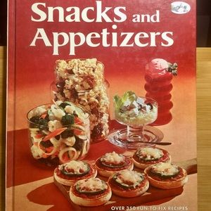 Better Homes & Gardens snacks Appetizers cook book